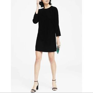 Banana Republic Velvet Mini Dress